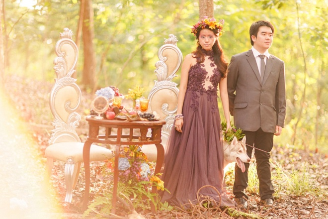 cuckoo cloud concepts andrew and iris engagement session enchanted forest whimsical woodland prenup cebu wedding stylist 27