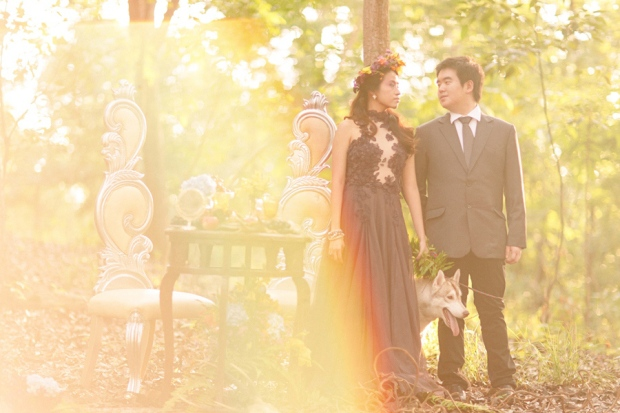cuckoo cloud concepts andrew and iris engagement session enchanted forest whimsical woodland prenup cebu wedding stylist 16