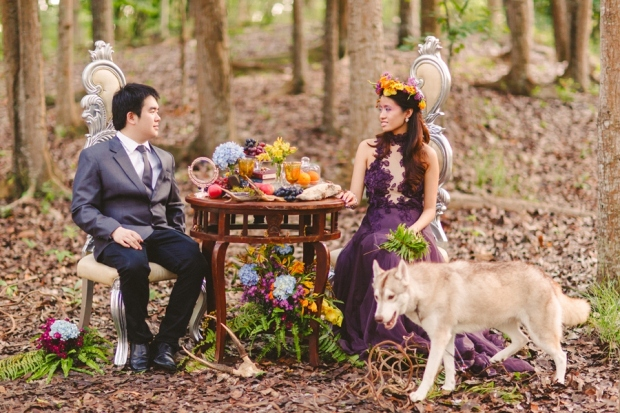 cuckoo cloud concepts andrew and iris engagement session enchanted forest whimsical woodland prenup cebu wedding stylist 21