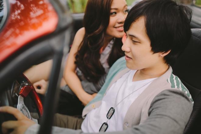 Cuckoo Cloud Concepts Alan and Mai Engagement Session Roadtrip Danao Red Convertible Cebu Wedding Stylist -11