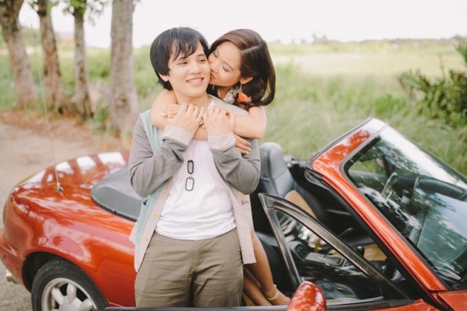 Cuckoo Cloud Concepts Alan and Mai Engagement Session Roadtrip Danao Red Convertible Cebu Wedding Stylist -15