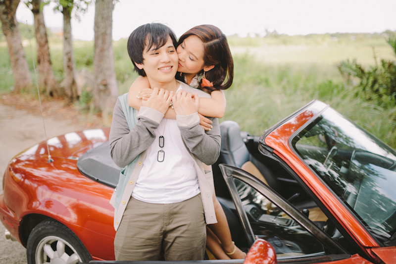 Cuckoo Cloud Concepts Alan and Mai Engagement Session Roadtrip Danao Red Convertible Cebu Wedding Stylist -15