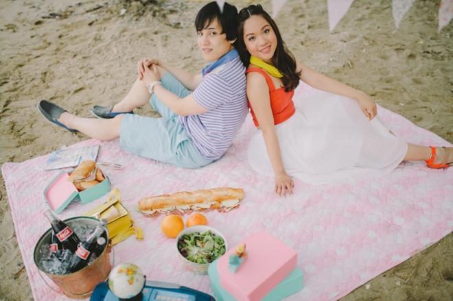 Cuckoo Cloud Concepts Alan and Mai Engagement Session Roadtrip Danao Red Convertible Cebu Wedding Stylist -16