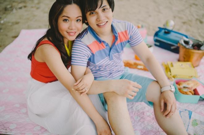 Cuckoo Cloud Concepts Alan and Mai Engagement Session Roadtrip Danao Red Convertible Cebu Wedding Stylist -17