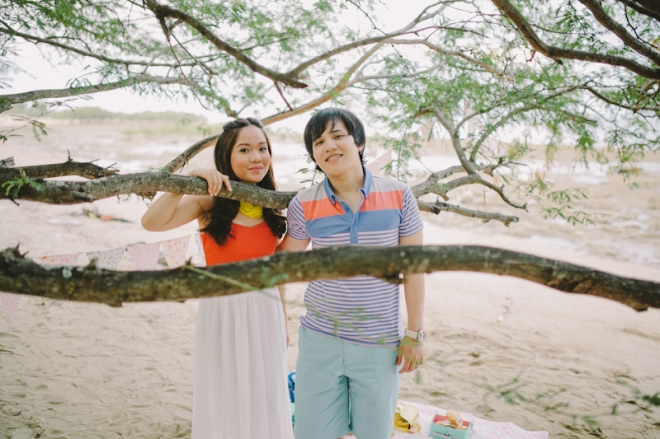 Cuckoo Cloud Concepts Alan and Mai Engagement Session Roadtrip Danao Red Convertible Cebu Wedding Stylist -18