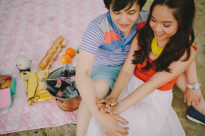 Cuckoo Cloud Concepts Alan and Mai Engagement Session Roadtrip Danao Red Convertible Cebu Wedding Stylist -21