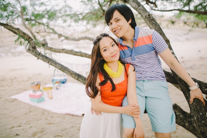 Cuckoo Cloud Concepts Alan and Mai Engagement Session Roadtrip Danao Red Convertible Cebu Wedding Stylist -24