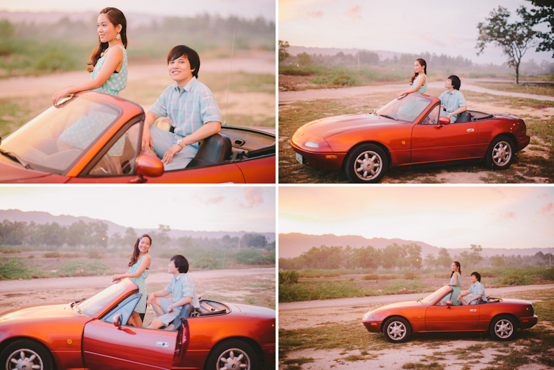 Cuckoo Cloud Concepts Alan and Mai Engagement Session Roadtrip Danao Red Convertible Cebu Wedding Stylist -27