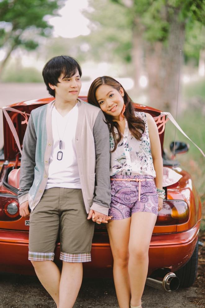 Cuckoo Cloud Concepts Alan and Mai Engagement Session Roadtrip Danao Red Convertible Cebu Wedding Stylist -29