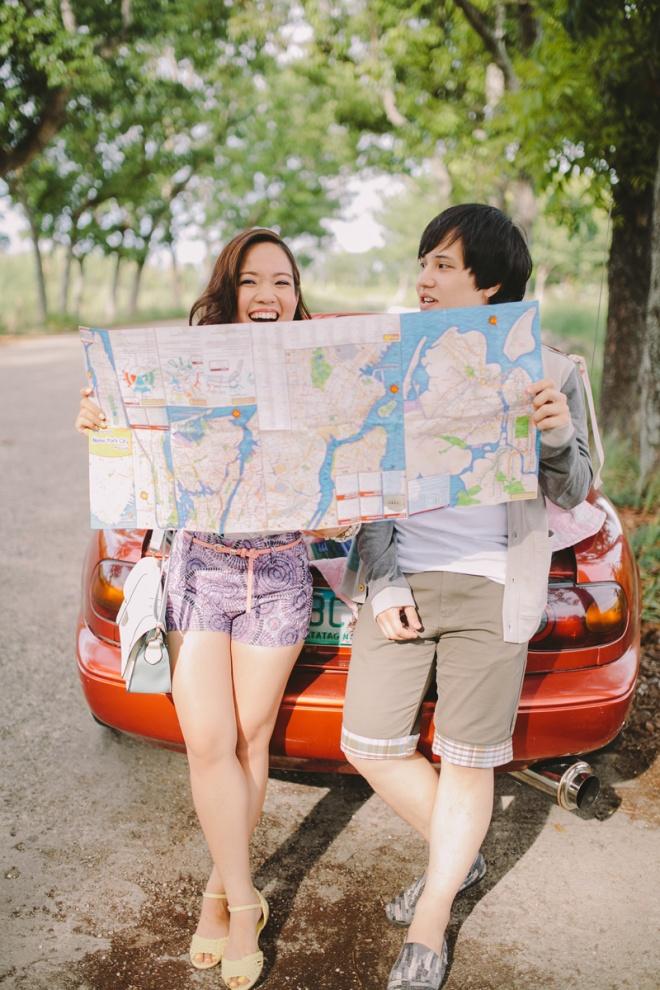 Cuckoo Cloud Concepts Alan and Mai Engagement Session Roadtrip Danao Red Convertible Cebu Wedding Stylist -31