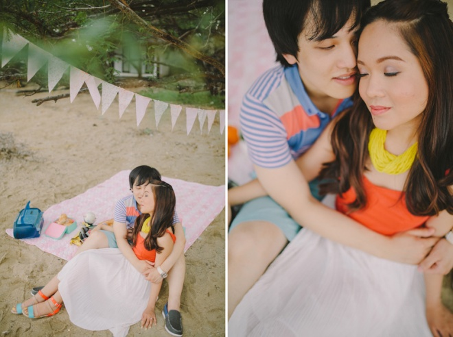 Cuckoo Cloud Concepts Alan and Mai Engagement Session Roadtrip Danao Red Convertible Cebu Wedding Stylist -33