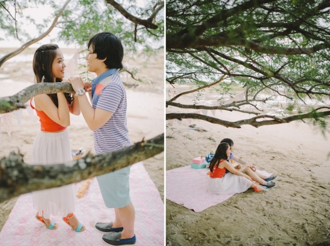 Cuckoo Cloud Concepts Alan and Mai Engagement Session Roadtrip Danao Red Convertible Cebu Wedding Stylist -37