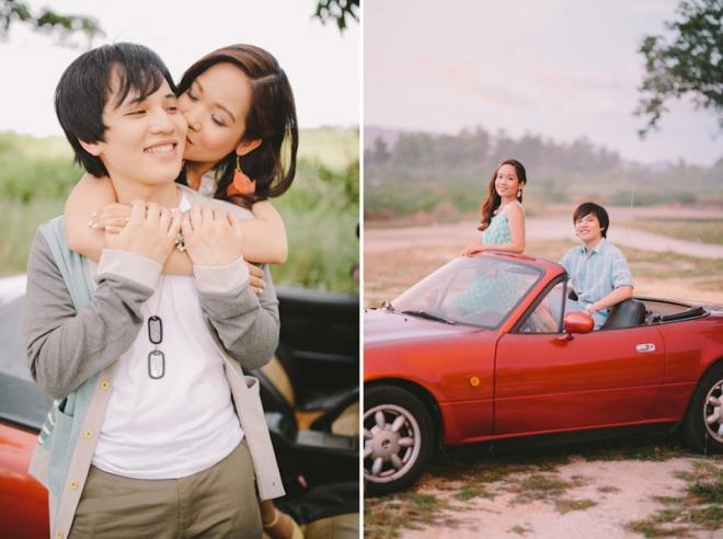 Cuckoo Cloud Concepts Alan and Mai Engagement Session Roadtrip Danao Red Convertible Cebu Wedding Stylist -38