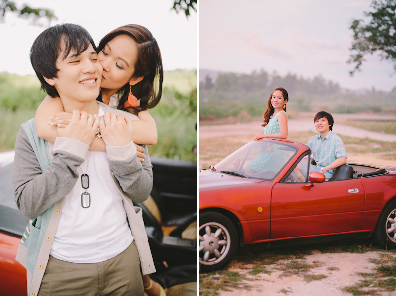 Cuckoo Cloud Concepts Alan and Mai Engagement Session Roadtrip Danao Red Convertible Cebu Wedding Stylist -38