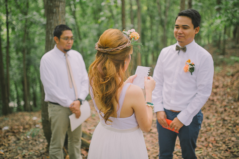 Cuckoo Cloud Concepts Ricci and Laiza Elopement Forest Dogs Bohemian Secret Wedding Cebu Wedding Stylist_05