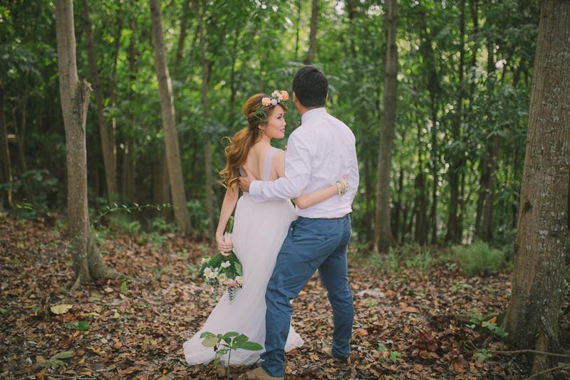 Cuckoo Cloud Concepts Ricci and Laiza Elopement Forest Dogs Bohemian Secret Wedding Cebu Wedding Stylist_07