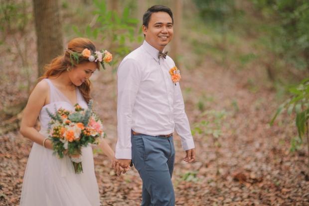Cuckoo Cloud Concepts Ricci and Laiza Elopement Forest Dogs Bohemian Secret Wedding Cebu Wedding Stylist_15