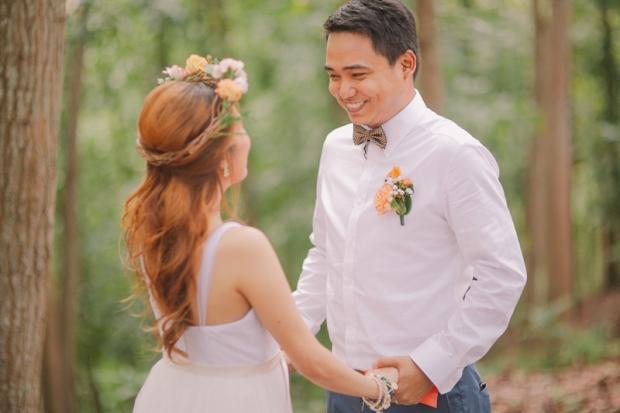 Cuckoo Cloud Concepts Ricci and Laiza Elopement Forest Dogs Bohemian Secret Wedding Cebu Wedding Stylist_17