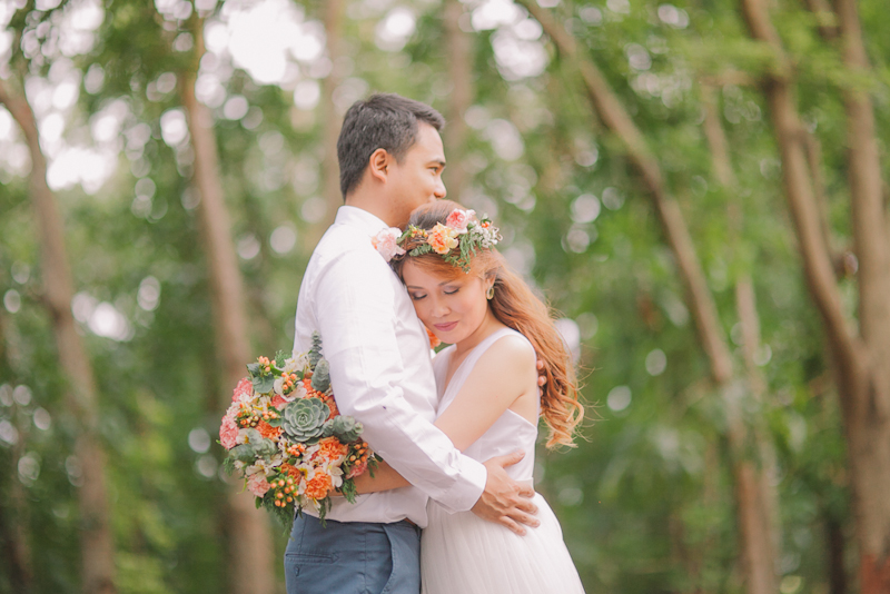 Cuckoo Cloud Concepts Ricci and Laiza Elopement Forest Dogs Bohemian Secret Wedding Cebu Wedding Stylist_24