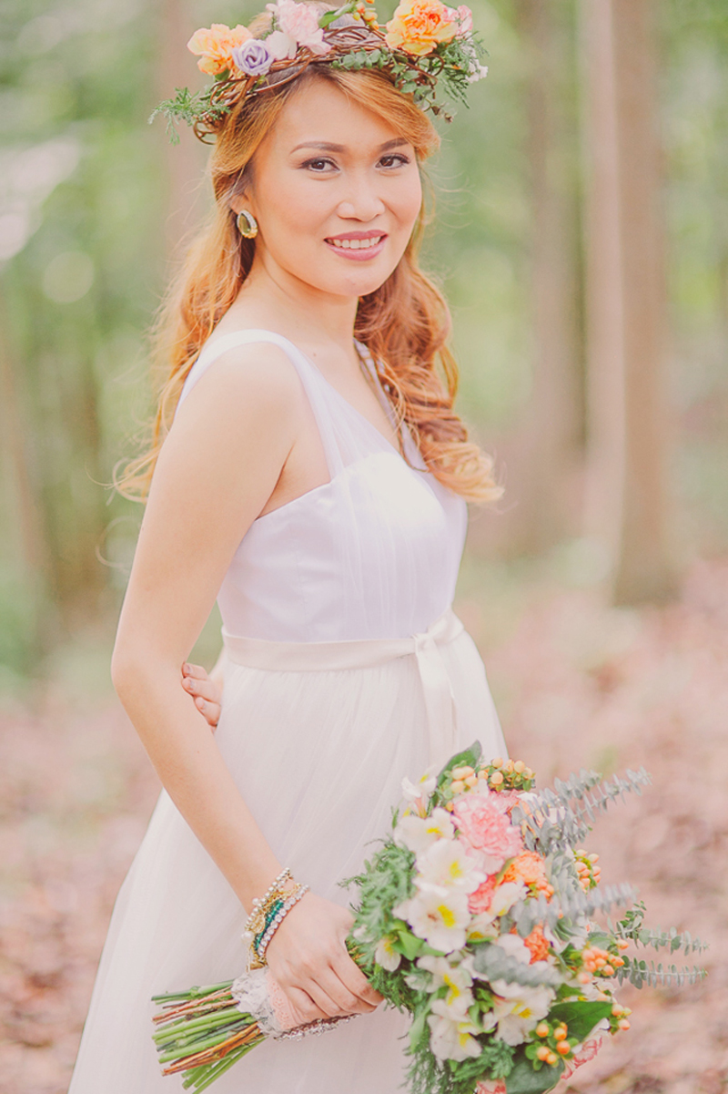 Cuckoo Cloud Concepts Ricci and Laiza Elopement Forest Dogs Bohemian Secret Wedding Cebu Wedding Stylist_25