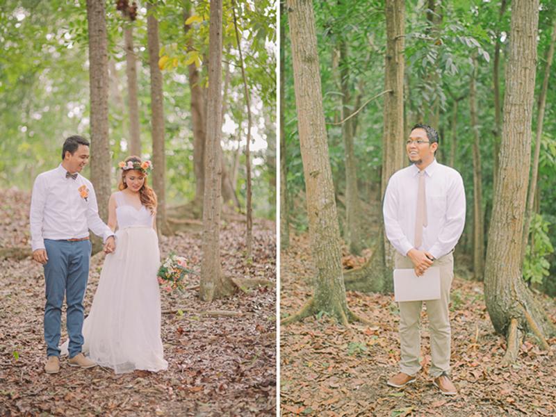Cuckoo Cloud Concepts Ricci and Laiza Elopement Forest Dogs Bohemian Secret Wedding Cebu Wedding Stylist_28