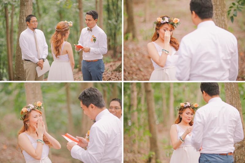 Cuckoo Cloud Concepts Ricci and Laiza Elopement Forest Dogs Bohemian Secret Wedding Cebu Wedding Stylist_29