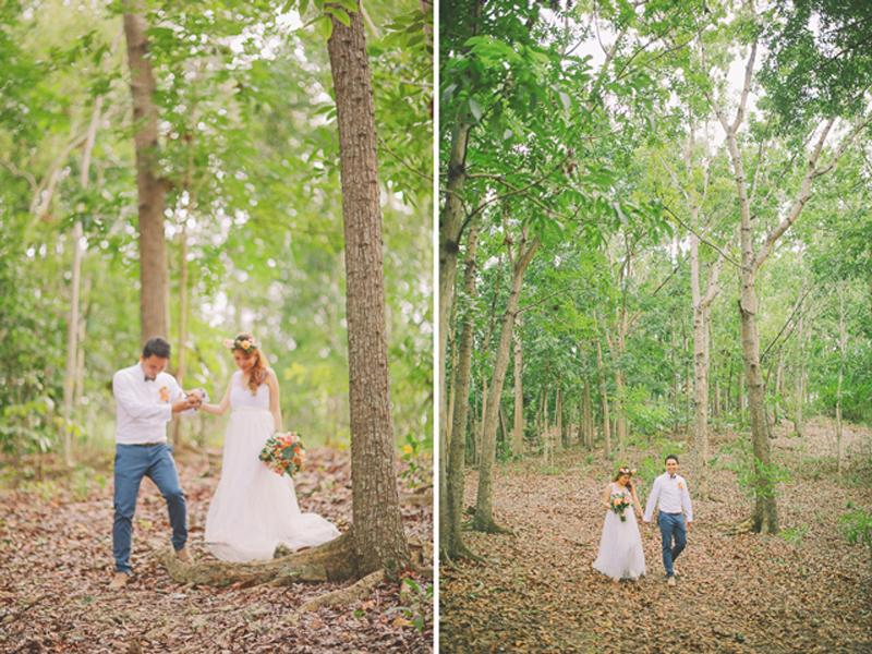 Cuckoo Cloud Concepts Ricci and Laiza Elopement Forest Dogs Bohemian Secret Wedding Cebu Wedding Stylist_31