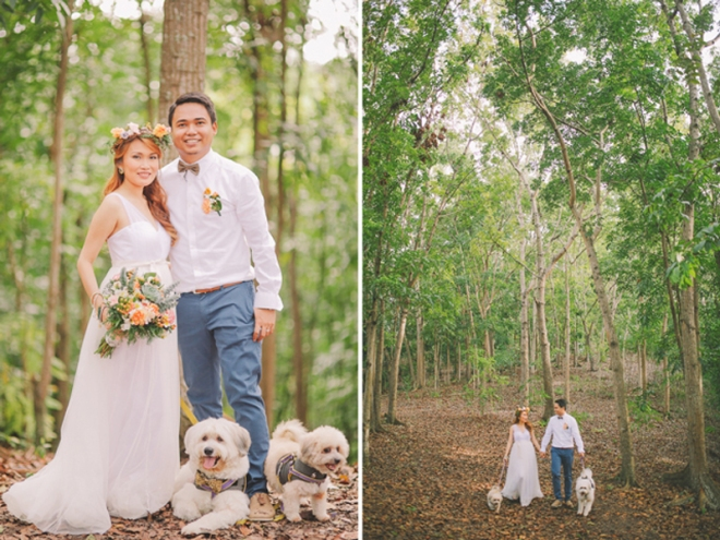 Cuckoo Cloud Concepts Ricci and Laiza Elopement Forest Dogs Bohemian Secret Wedding Cebu Wedding Stylist_32