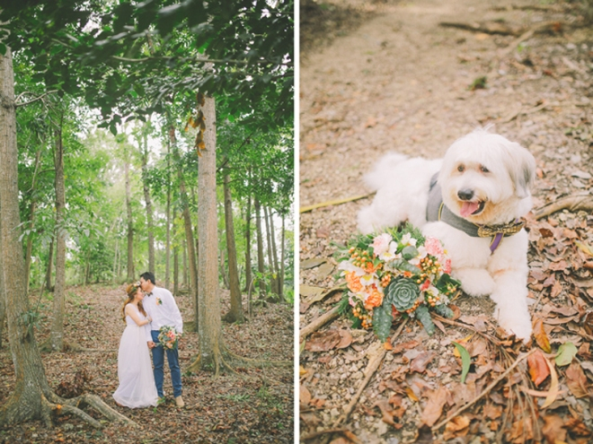Cuckoo Cloud Concepts Ricci and Laiza Elopement Forest Dogs Bohemian Secret Wedding Cebu Wedding Stylist_33