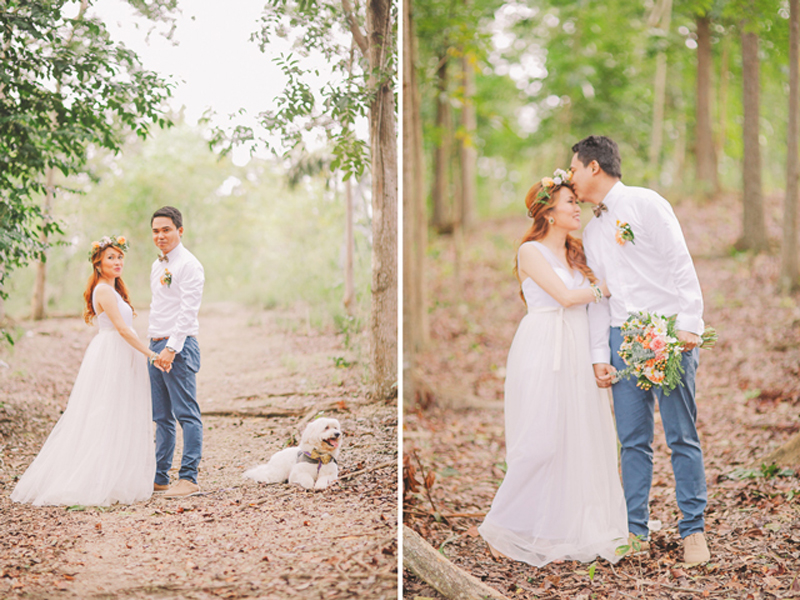 Cuckoo Cloud Concepts Ricci and Laiza Elopement Forest Dogs Bohemian Secret Wedding Cebu Wedding Stylist_34