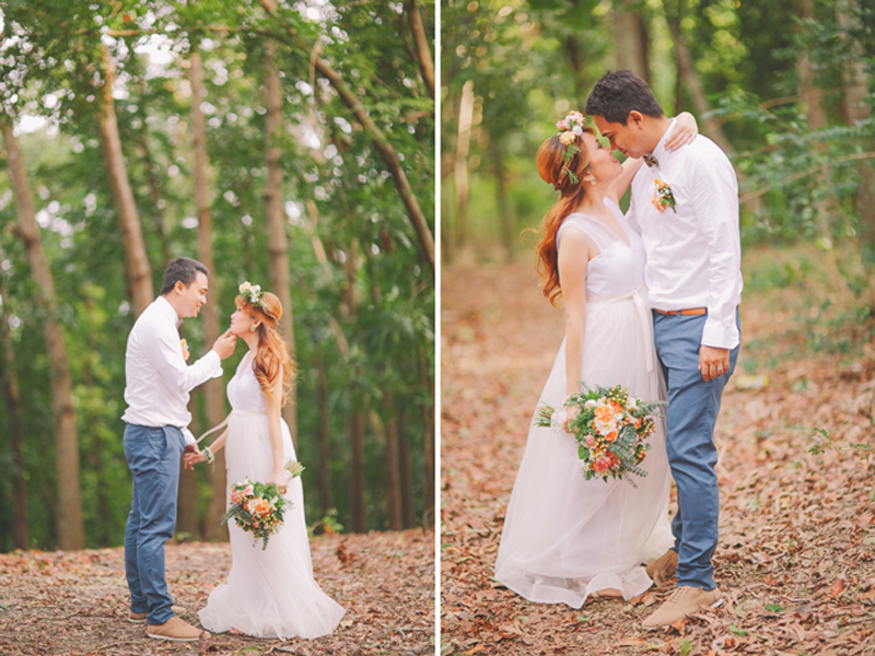 Cuckoo Cloud Concepts Ricci and Laiza Elopement Forest Dogs Bohemian Secret Wedding Cebu Wedding Stylist_36