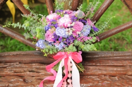 Shades of Purple for Gianina's Garden Union with Alain