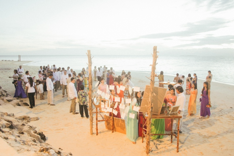 Cuckoo Cloud Concepts G2 Jeanette Palawan Wedding Cebu Wedding Stylist Beach Rustic -14