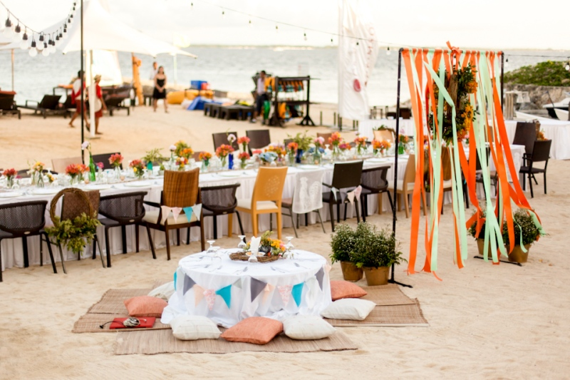 Cuckoo Cloud Concepts Joseph Flor Wedding Bohemian Beach Colorful Mismatched Cebu Event Stylist-13