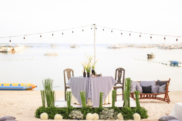 Cuckoo Cloud Concepts King Jumax Wedding Cebu Event Stylist Black and White Beach -1