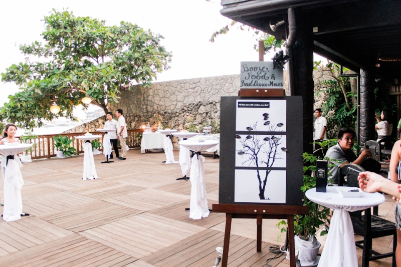 Cuckoo Cloud Concepts King Jumax Wedding Cebu Event Stylist Black and White Beach -11