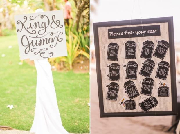 Cuckoo Cloud Concepts King Jumax Wedding Cebu Event Stylist Black and White Beach-19