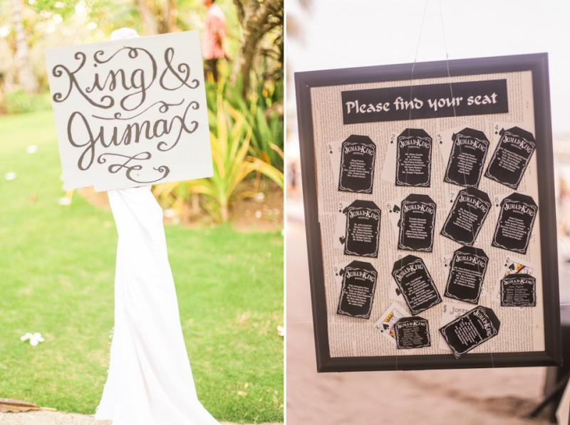 Cuckoo Cloud Concepts King Jumax Wedding Cebu Event Stylist Black and White Beach-19