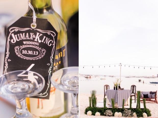 Cuckoo Cloud Concepts King Jumax Wedding Cebu Event Stylist Black and White Beach-22