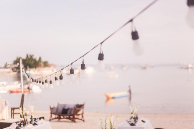 Cuckoo Cloud Concepts King Jumax Wedding Cebu Event Stylist Black and White Beach -7
