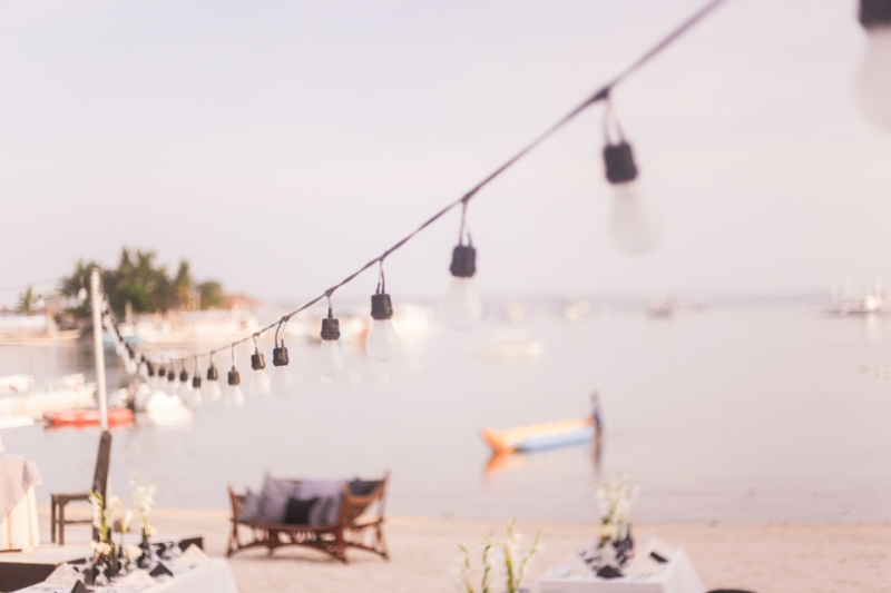 Cuckoo Cloud Concepts King Jumax Wedding Cebu Event Stylist Black and White Beach -7