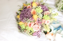 Romantic Pastel Bouquet for Ruby // taken with the Cuckoo cam