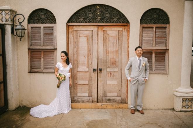Cuckoo Cloud Concepts Roylan and Janeth Wedding Rustic Chic Peach Mint Green -11