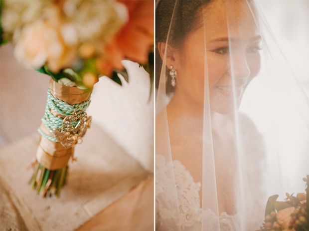 Cuckoo Cloud Concepts Roylan and Janeth Wedding Rustic Chic Peach Mint Green -19