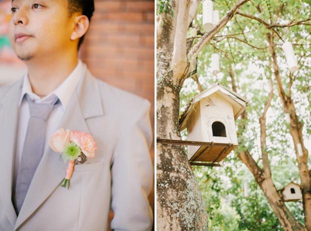 Cuckoo Cloud Concepts Roylan and Janeth Wedding Rustic Chic Peach Mint Green -20