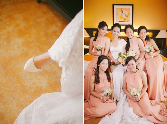 Cuckoo Cloud Concepts Roylan and Janeth Wedding Rustic Chic Peach Mint Green -25