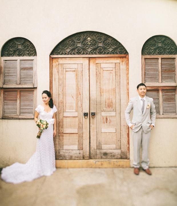 Cuckoo Cloud Concepts Roylan and Janeth Wedding Rustic Chic Peach Mint Green -33