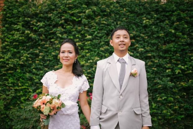 Cuckoo Cloud Concepts Roylan and Janeth Wedding Rustic Chic Peach Mint Green -8