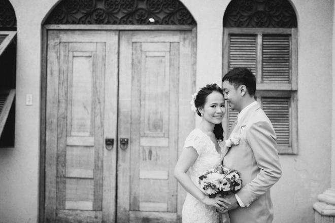 Cuckoo Cloud Concepts Roylan and Janeth Wedding Rustic Chic Peach Mint Green -9