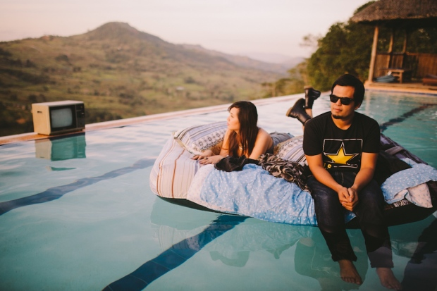Cuckoo Cloud Concepts Owen Blance Engagement Grunge Inspired Swimming Pool Quirky Outdoor Cebu Wedding Stylist-23
